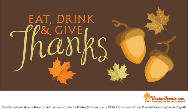 600x347 Free Thanksgiving Vector Background Free Vector In Encapsulated