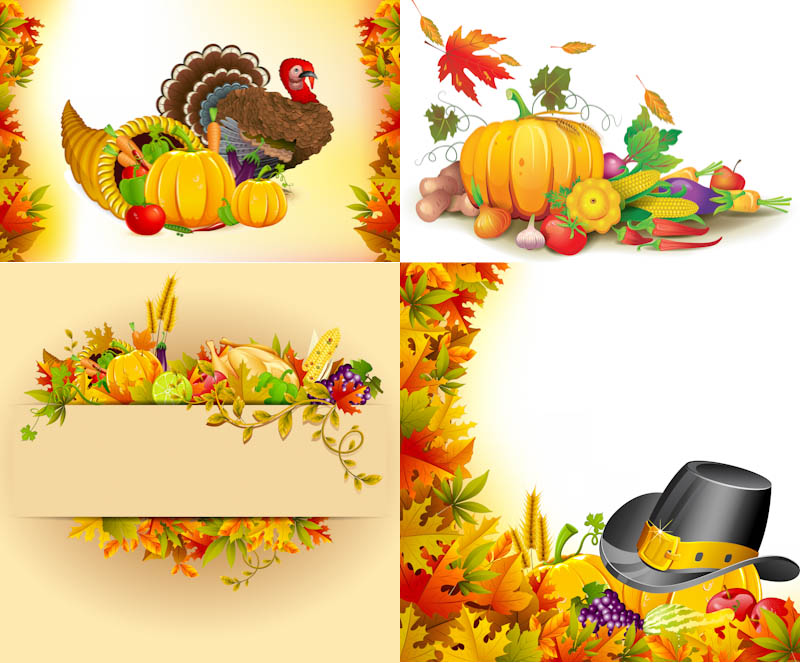 800x663 Thanksgiving Day Backgrounds Vector Vector Graphics Blog
