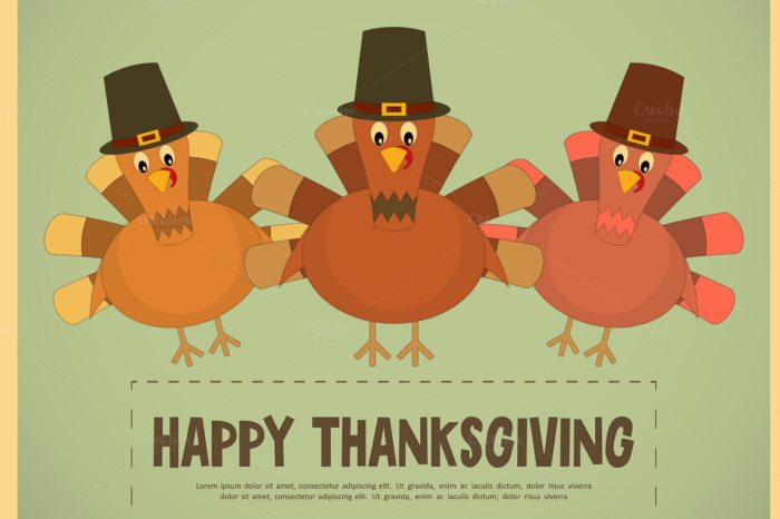 700x466 Thanksgiving Vector Graphics And Greeting Templates