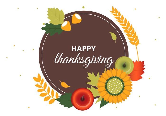 700x490 Free Thanksgiving Vector Background