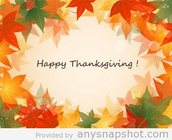 338x275 Happy Thanksgiving Vector Background Graphic