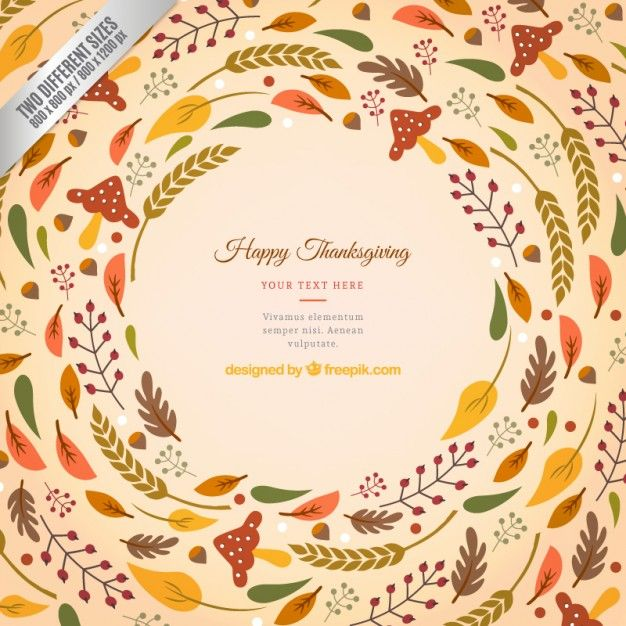 626x626 Retro Thanksgiving. Vector Art. Office Party And Invitations