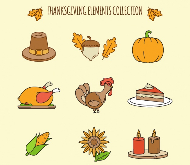 626x546 Thanksgiving Clipart And Autumn Vectors To Download Free