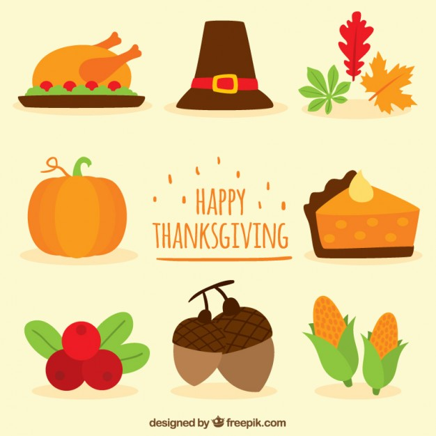 626x626 Happy Thanksgiving Vector Premium Download