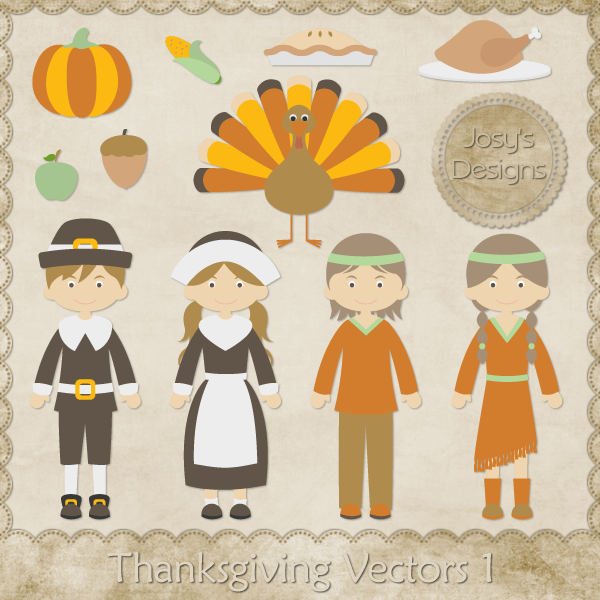 600x600 Thanksgiving Vectors To Be Thankful For!