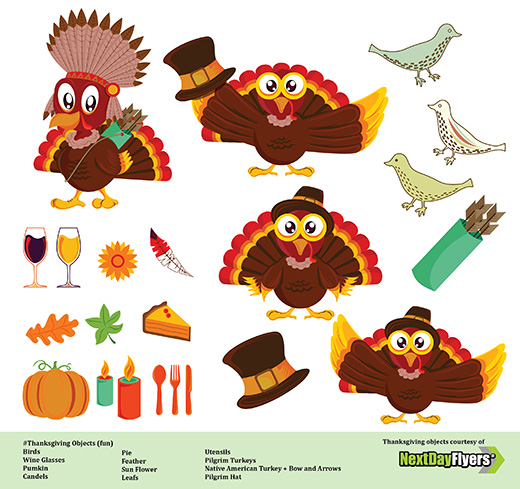 520x489 Thanksgiving Vector Clip Art