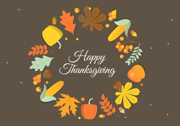 700x490 Free Autumn Thanksgiving Vector Background