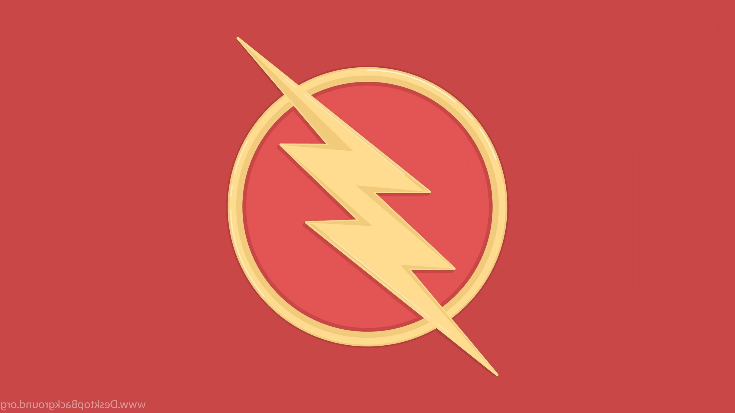 3072x1728 The Flash Logo Vector Wallpapers Shopatcloth