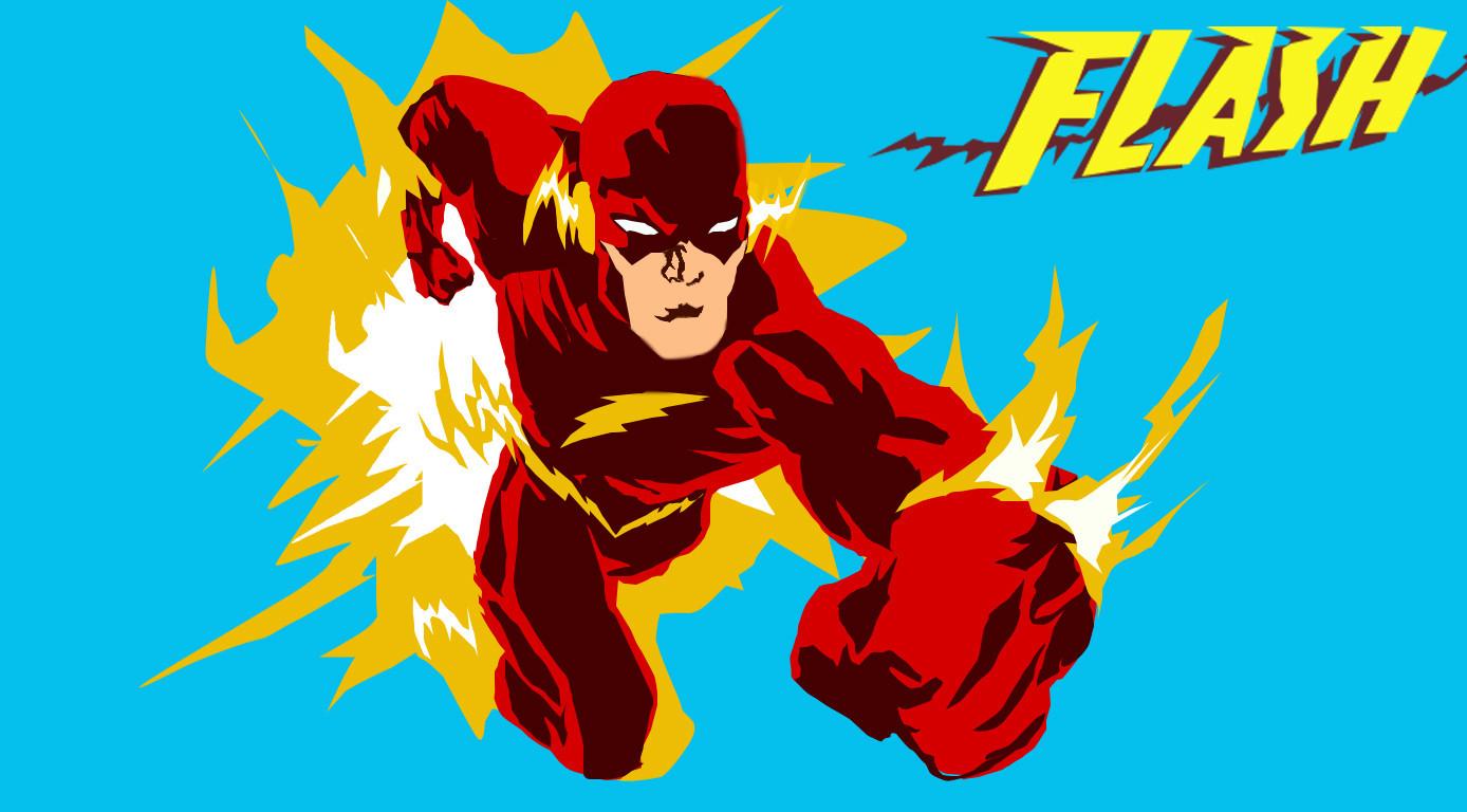 1388x768 The Flash Vector