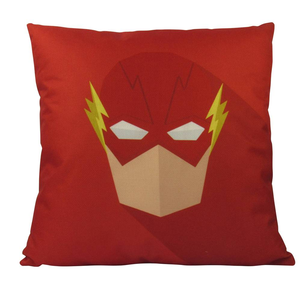 1024x994 Flash Pillow Cover Super Hero Vector 18 X 18 Pillow
