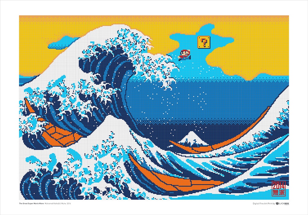 1024x717 The Great Super Mario Wave Muhamed Muha