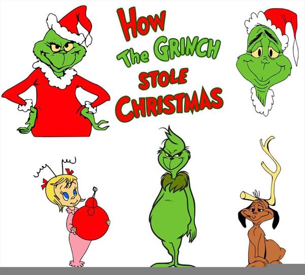 600x540 Dr Seuss Grinch Clipart Free Images