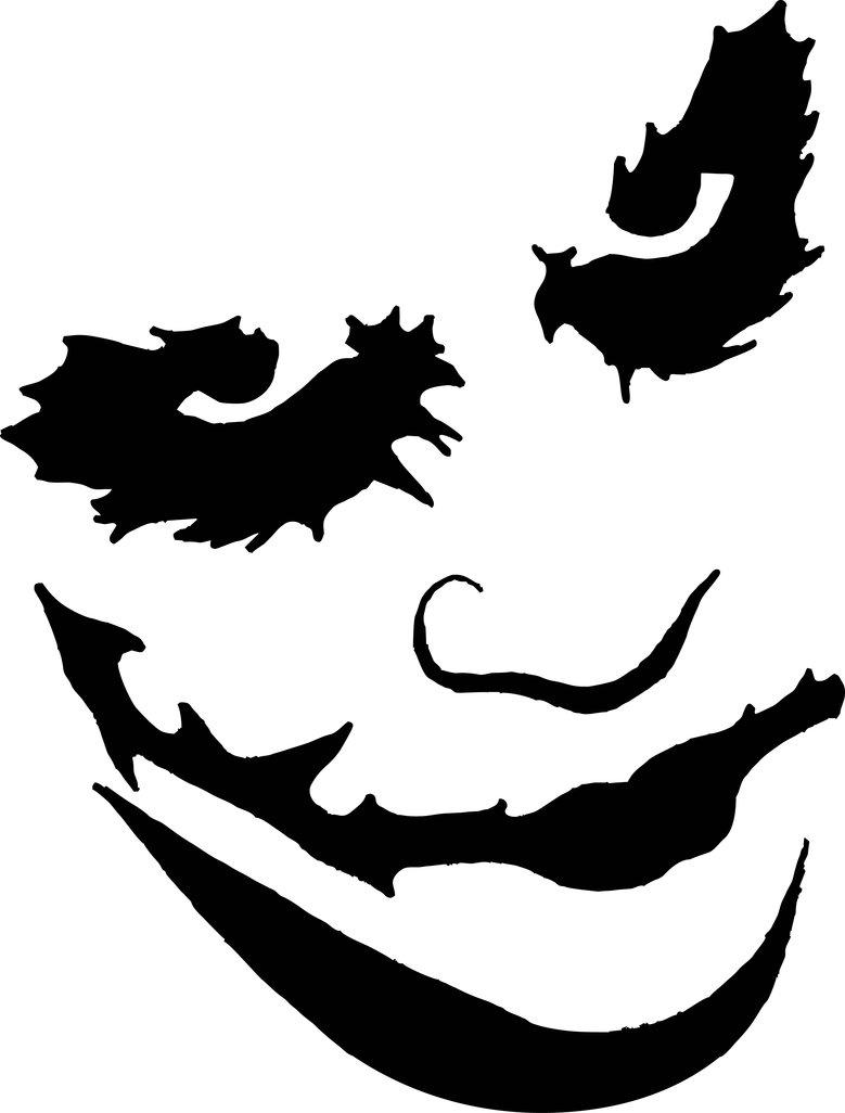 779x1026 Joker Stencil Vector Art By Sartauzumaki