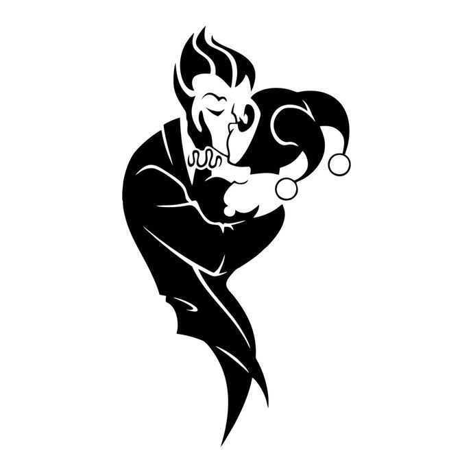690x690 Joker And Harley Quinn Graphics Design Svg By Vectordesign On Zibbet