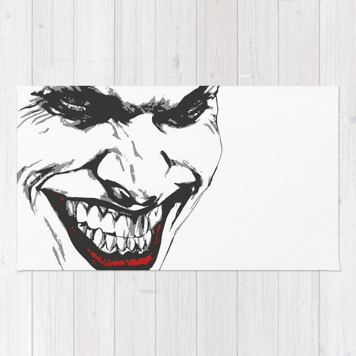 700x700 Joker Vector Rug By Pablorodriguez Society6
