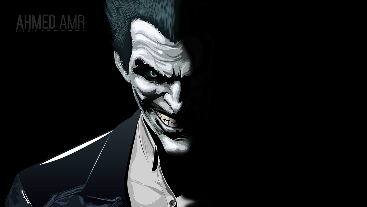 1200x676 Joker Vector Art On Behance
