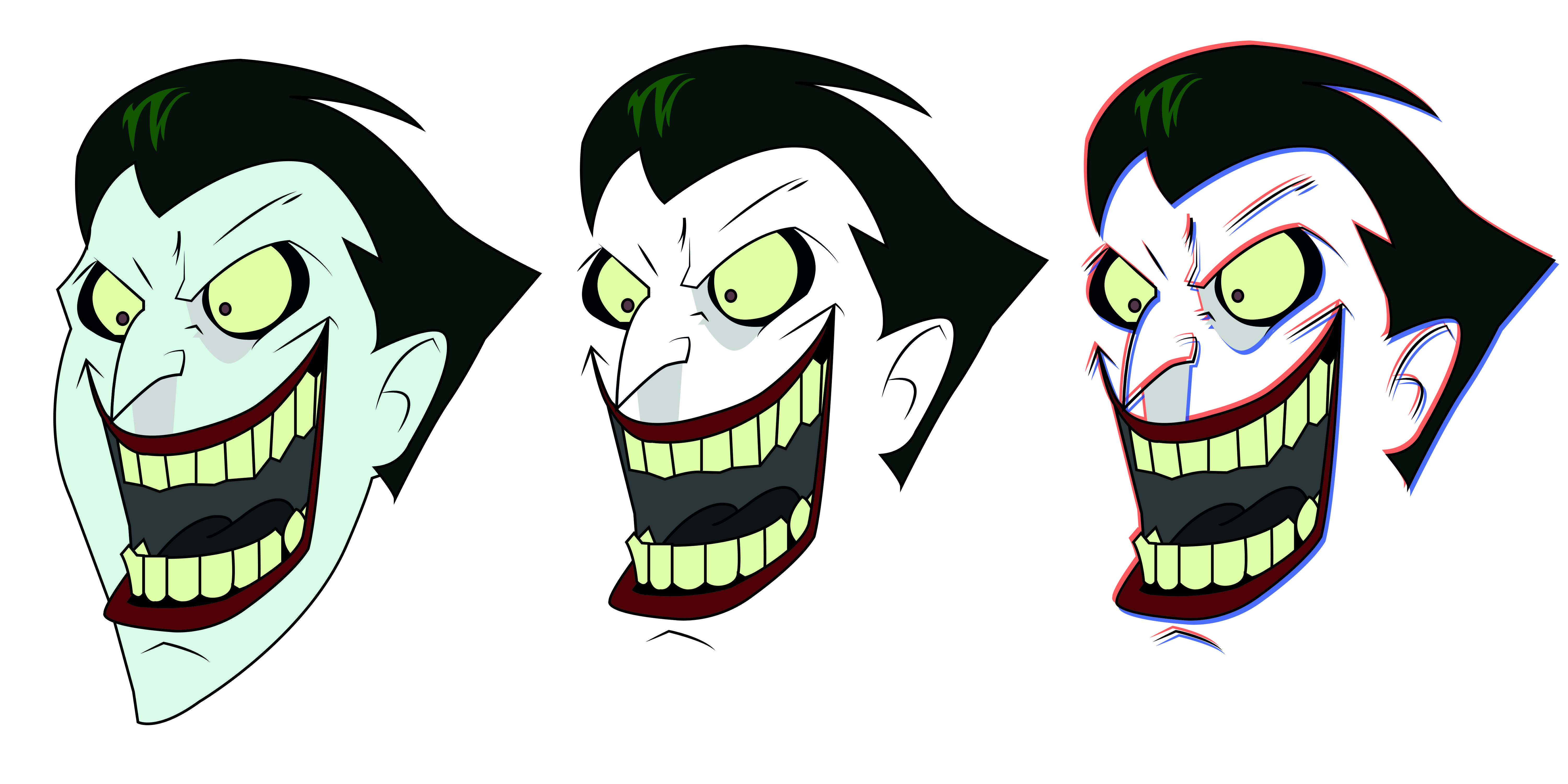 6000x3000 Joker Vector Trace I Did A While Ago Comicbooks