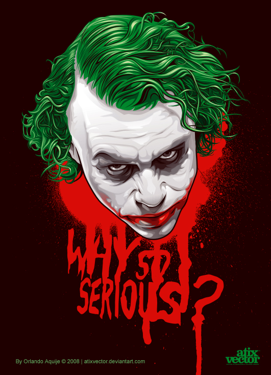 531x734 The Joker By Atixvector