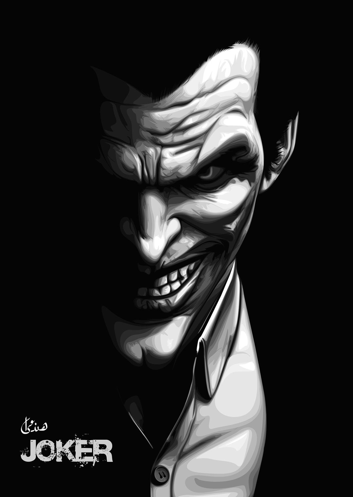 1200x1689 El Joker Vector Art On Behance