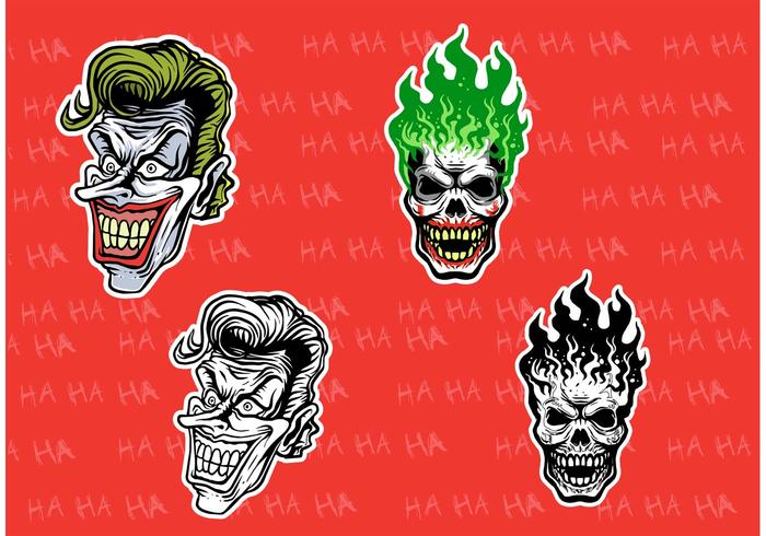 700x490 Evil Joker Vectors