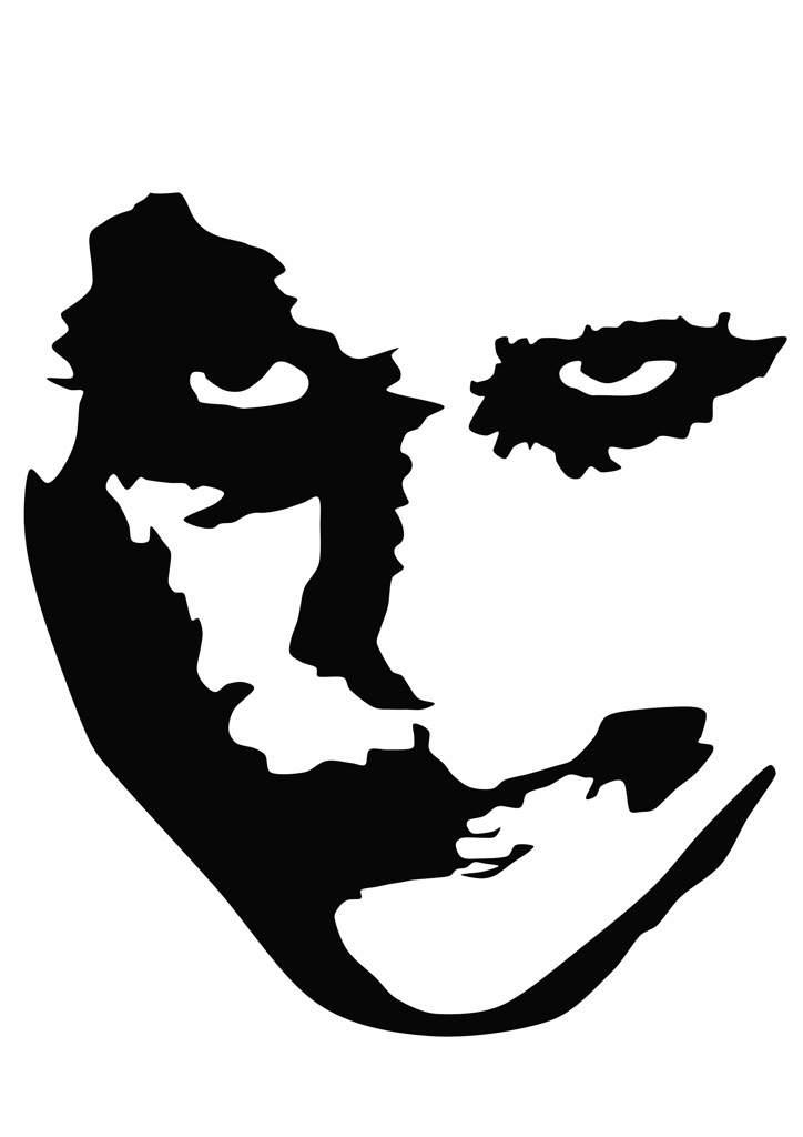 724x1024 Heath Ledger Joker Vector Art Amino