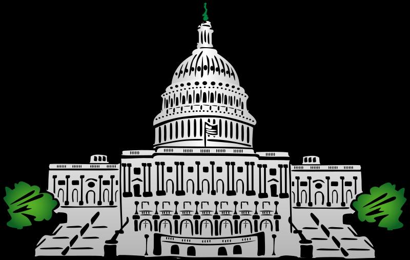 800x507 Congress Clipart Whitehouse Cute Borders, Vectors, Animated, Black