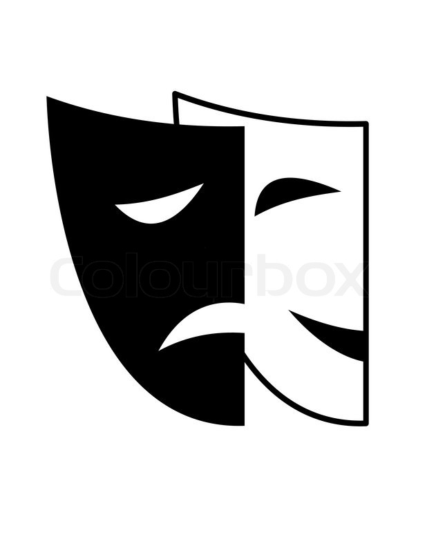 618x800 Theatrical Masks
