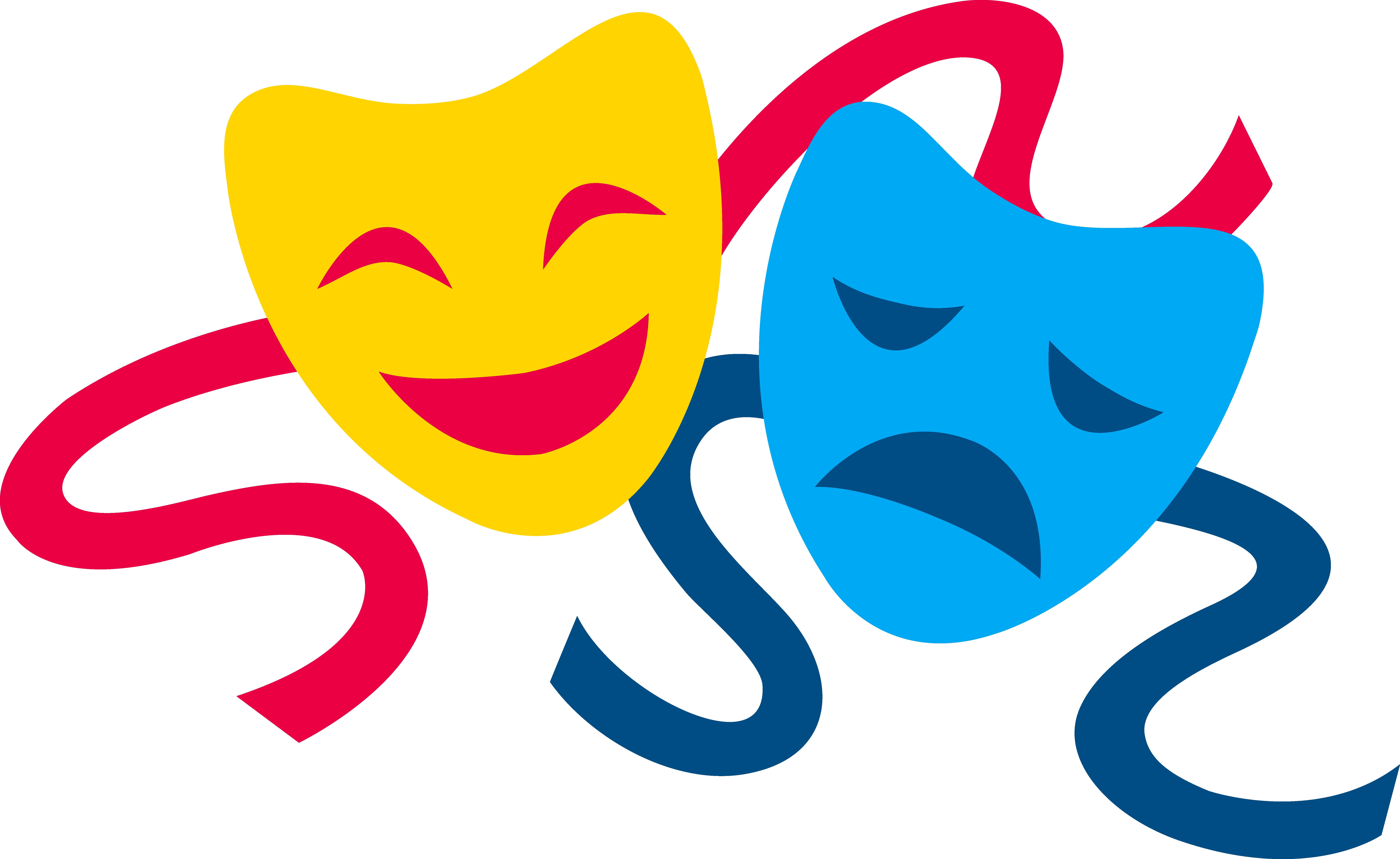 7859x4820 Theater Masks Clipart Clipartlook