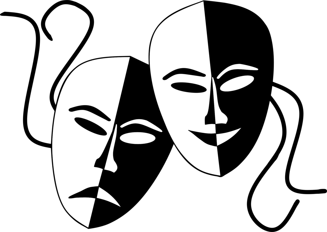 1054x750 Collection Of Free Vector Mask Musical Theatre. Download On Ubisafe