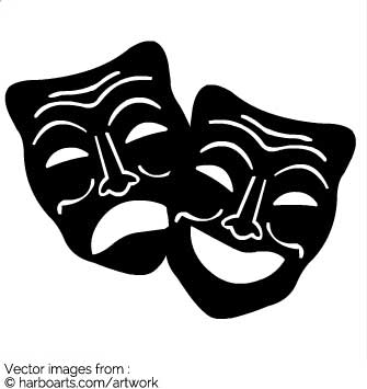 335x355 Download Black Theater Masks