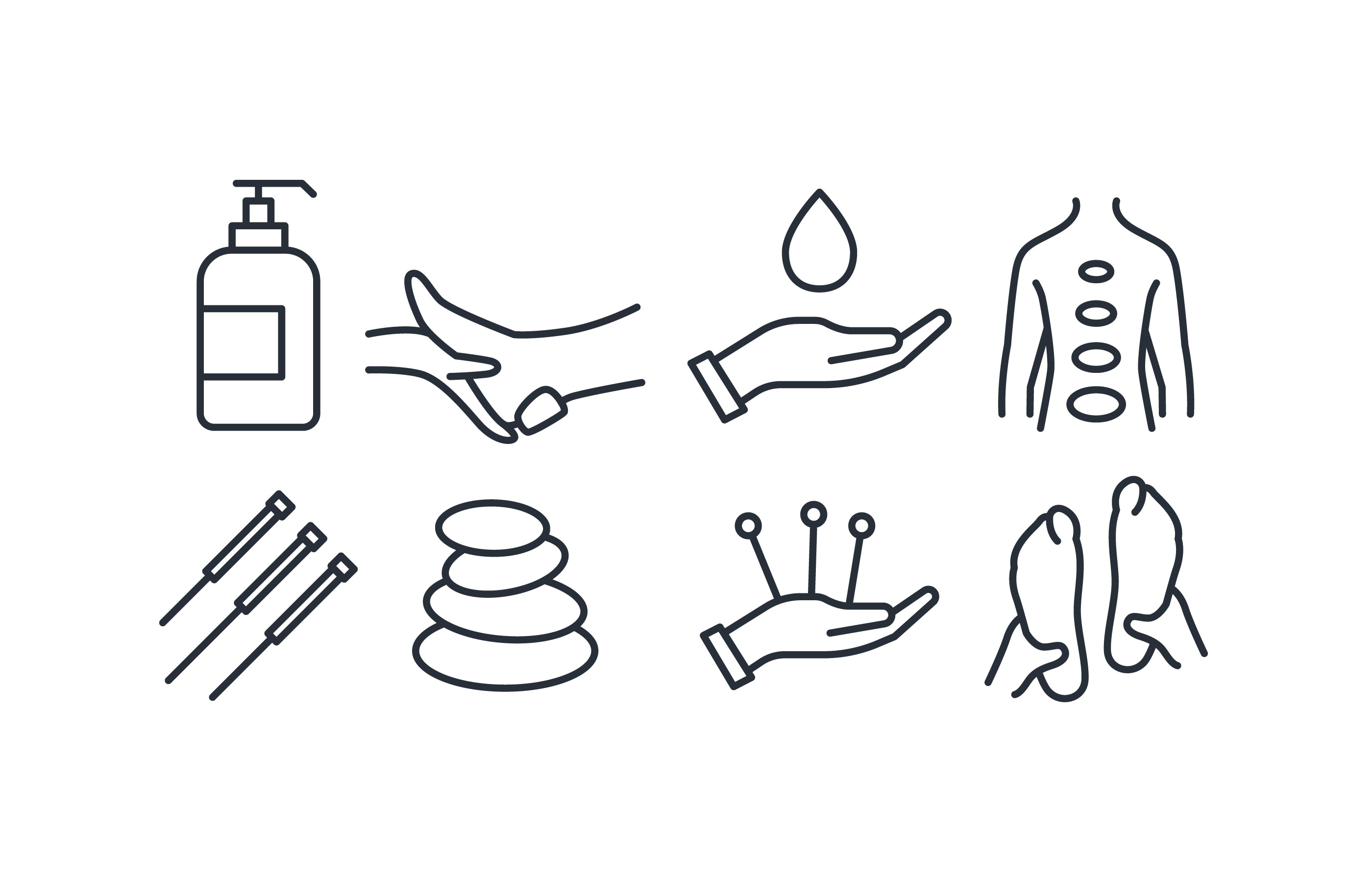 2800x1800 Massage Therapy Free Vector Art