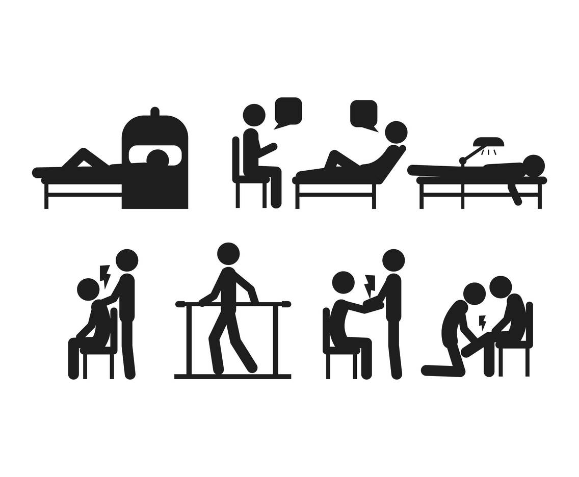 1136x936 Therapy Vector Set Vector Art Amp Graphics