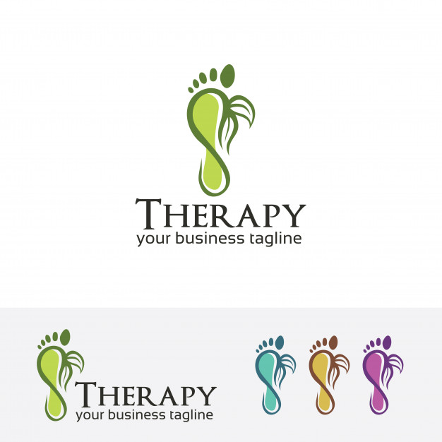 626x626 Foot Therapy Vector Logo Template Vector Premium Download