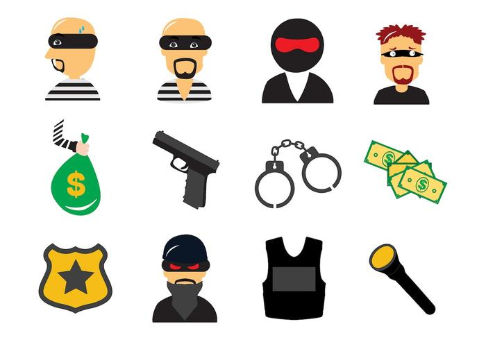 700x490 Thief Free Vector Art