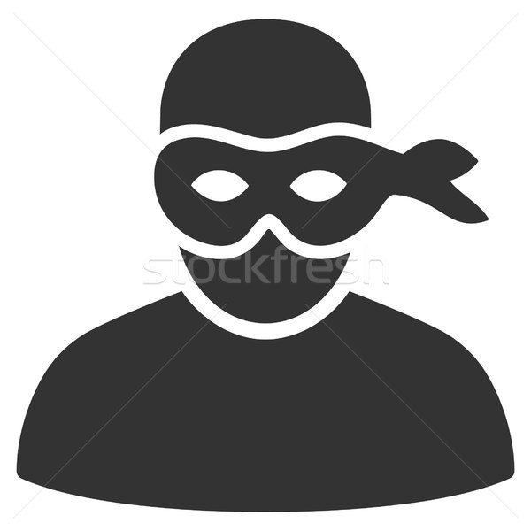 600x600 Anonimious Thief Vector Icon Vector Illustration Victor Ivlichev