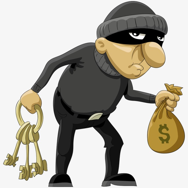 650x650 Vector Thief, People Illustration, Illustration, Character Png And