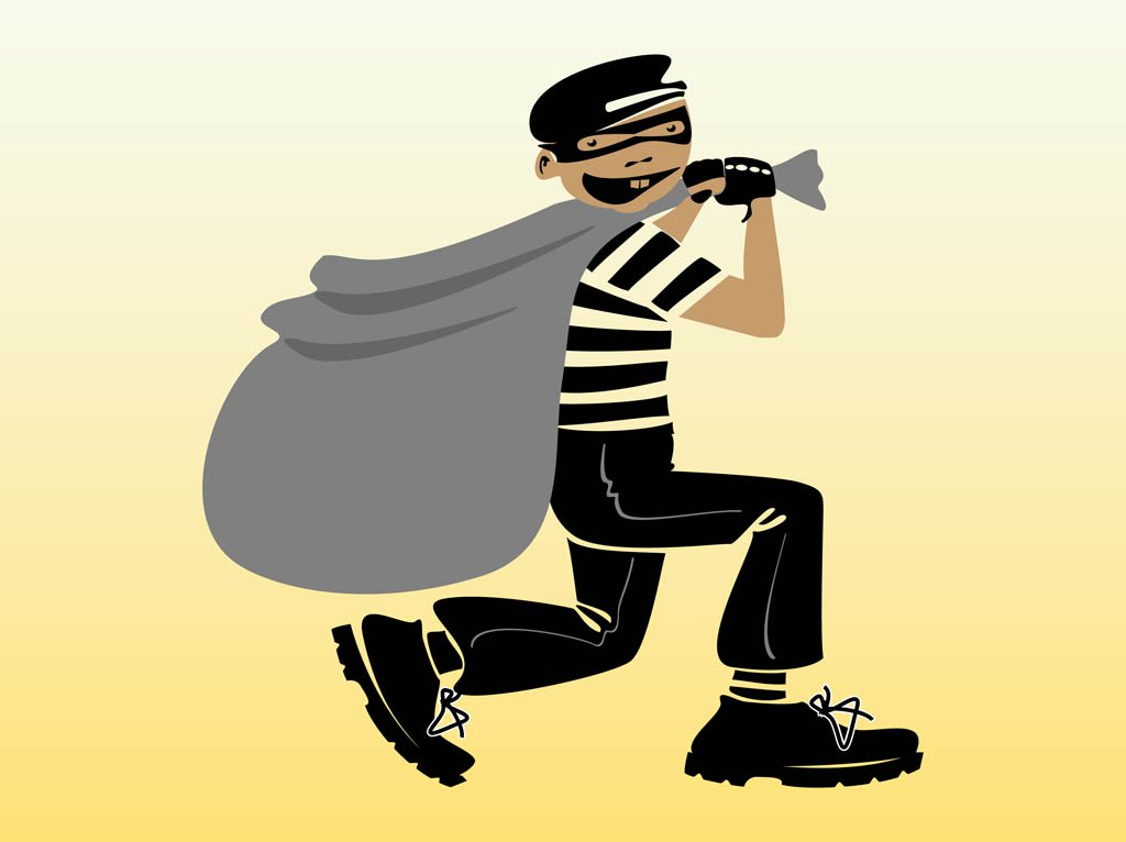 1024x766 Vector Thief Vector Art Amp Graphics