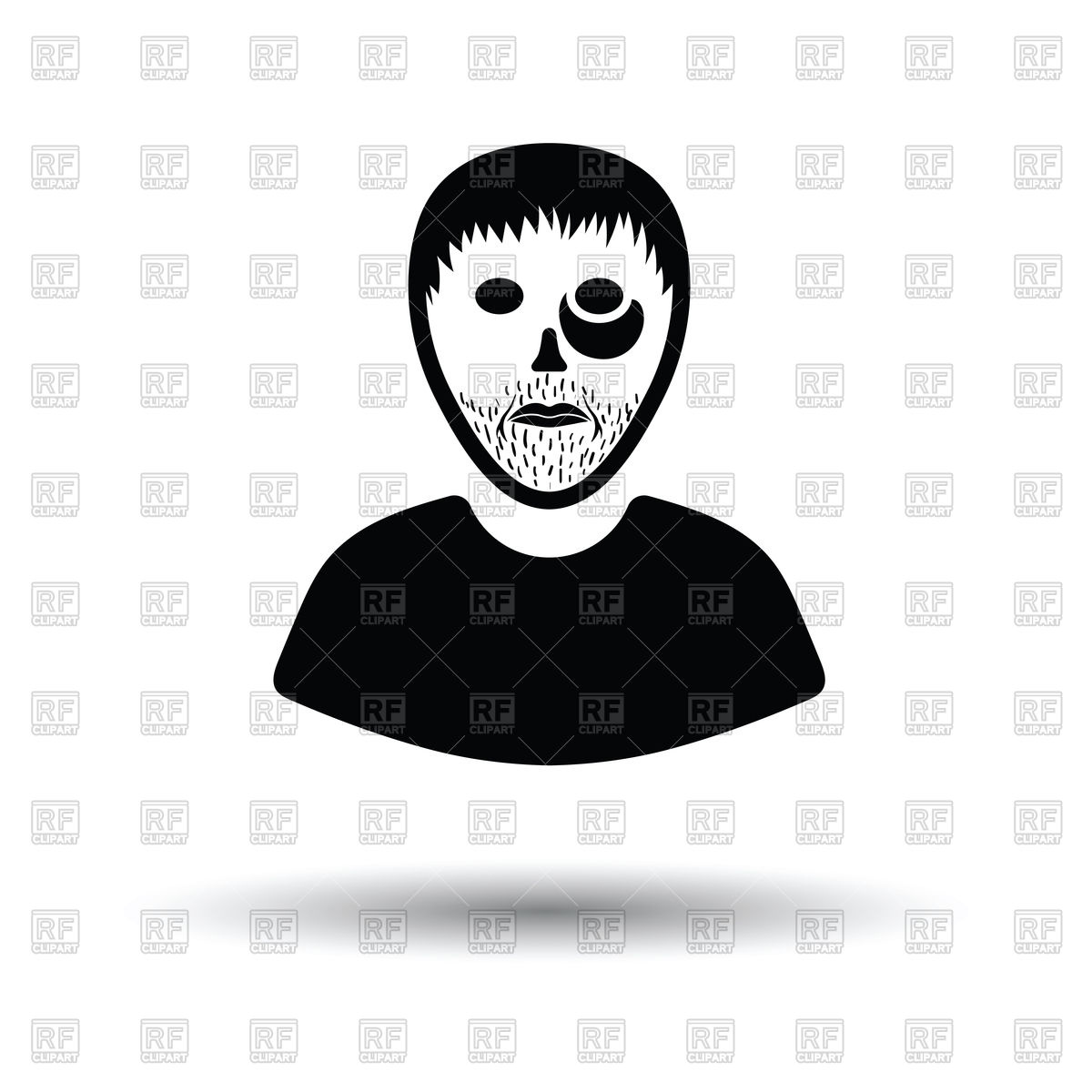 1200x1200 Criminal Man Icon