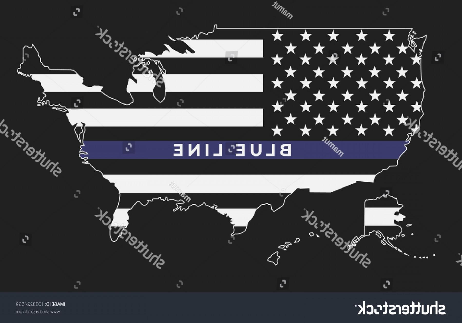1800x1261 American Thin Blue Line Flag Symbolic Lazttweet