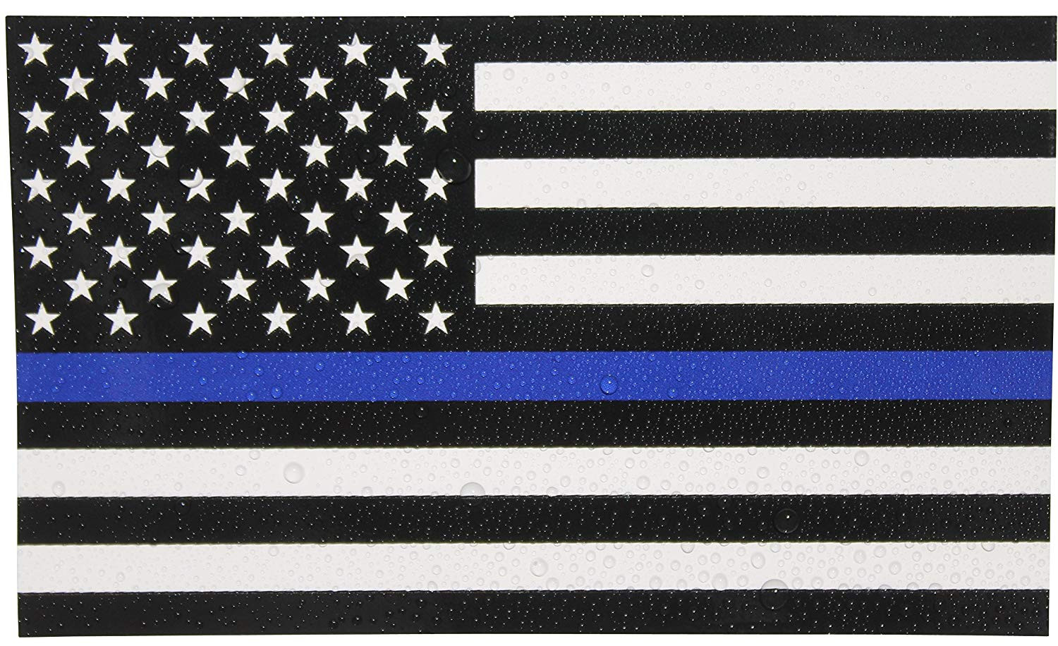 Thin Blue Line Vector