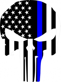 200x266 Buy Custom Thin Blue Line Decals, Blue Lives Matter Decals, Thin
