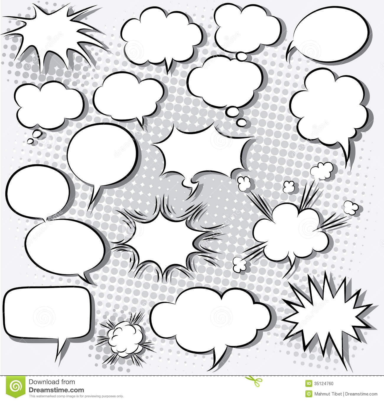 1300x1358 Comic Book Thought Bubble Clipart