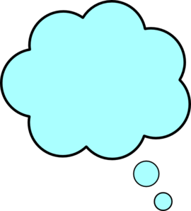 Thinking Cloud Vector