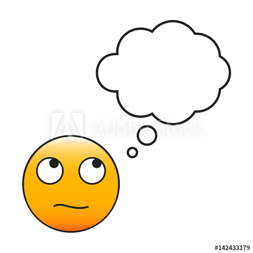Thinking Emoji Vector at GetDrawings com | Free for personal