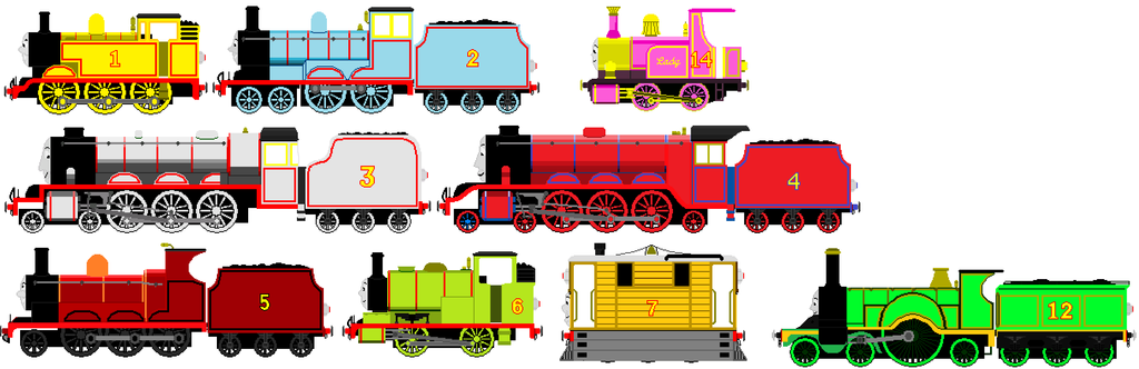 1024x332 Thomas And Friends Animated Super Forms By Burntuakrisp