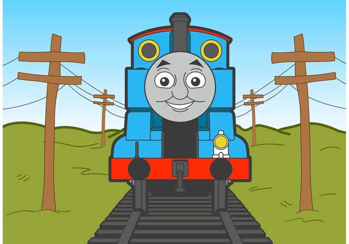 700x490 Thomas The Train Vector Free