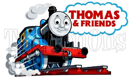 540x331 Thomas The Tank Engine Train T Shirt Iron On Transfer