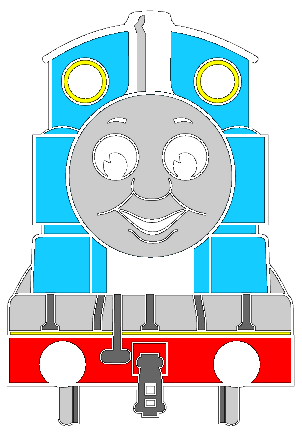 302x436 Free Download Of Thomas The Tank Engine Vector Logo