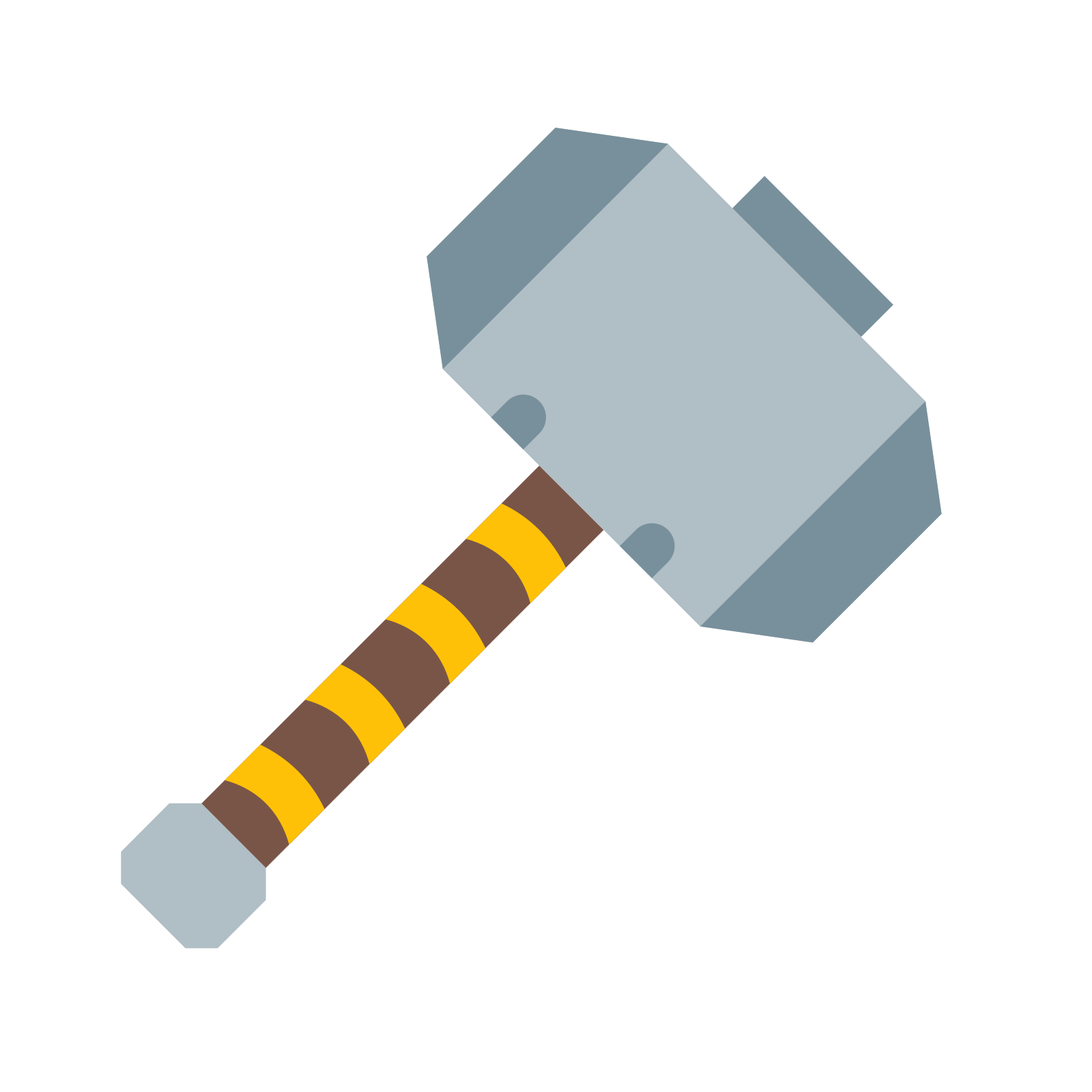 1600x1600 Thor Hammer Icon