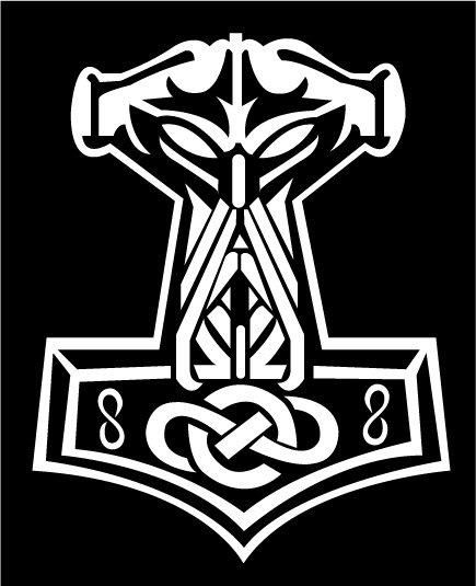 435x535 Thor Hammer Clipart Logo Collection